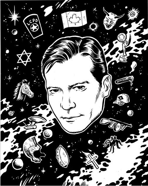 william shatner, shatner, portrait, Wayne Shellabarger, Illustration, poster